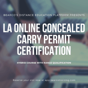 Louisiana Online Concealed Carry Class